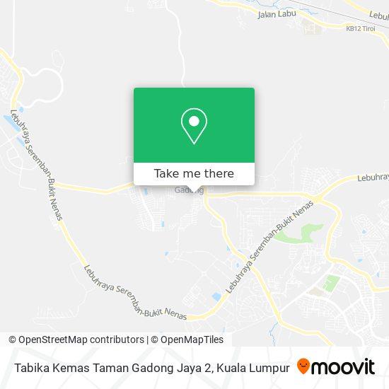 Tabika Kemas Taman Gadong Jaya 2 map