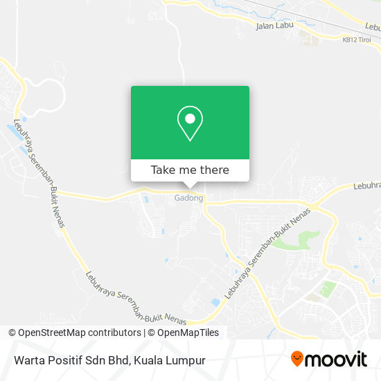 Warta Positif Sdn Bhd map