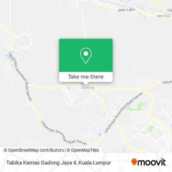Tabika Kemas Gadong Jaya 4 map