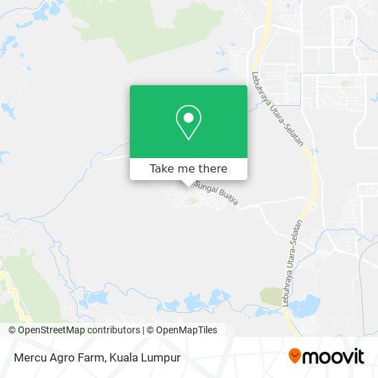 Peta Mercu Agro Farm