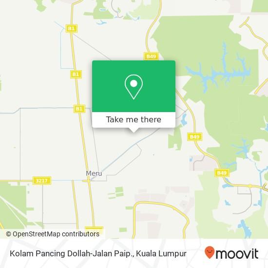 Kolam Pancing Dollah-Jalan Paip., Lorong Haji Suglaman 40170 Kapar map