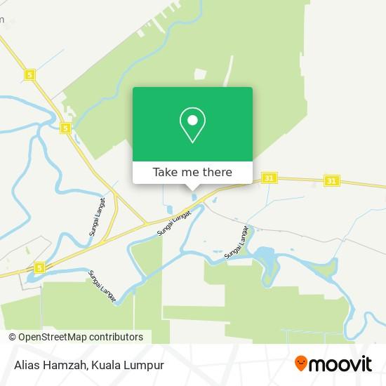 Alias Hamzah map