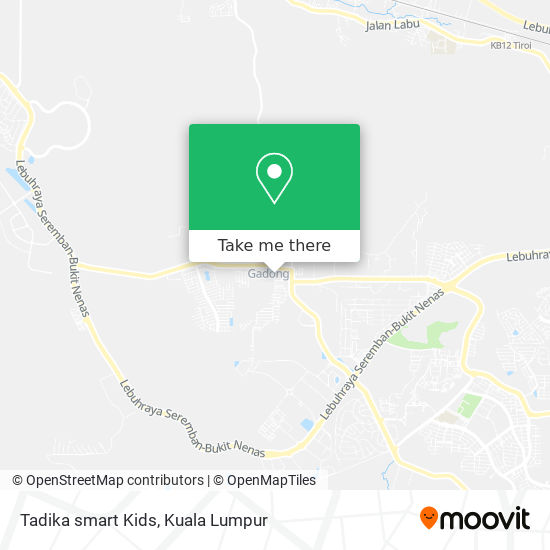 Tadika smart Kids map