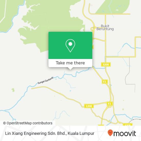 Lin Xiang Engineering Sdn. Bhd. map