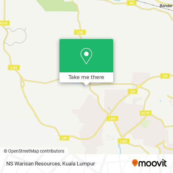 NS Warisan Resources map