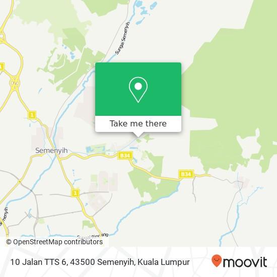 10 Jalan TTS 6, 43500 Semenyih map
