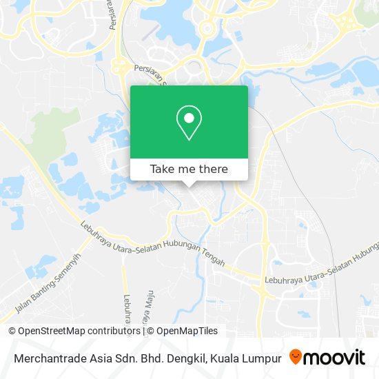 Merchantrade Asia Sdn. Bhd. Dengkil map