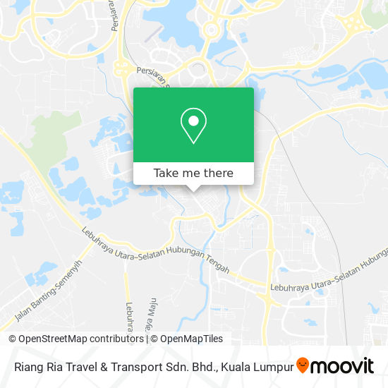 Riang Ria Travel & Transport Sdn. Bhd. map
