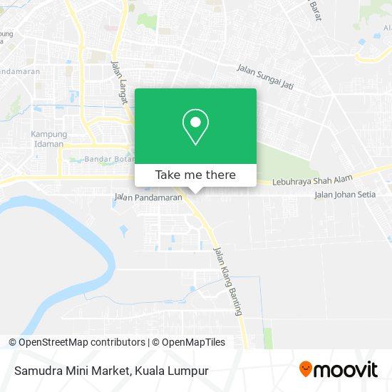 Samudra Mini Market map