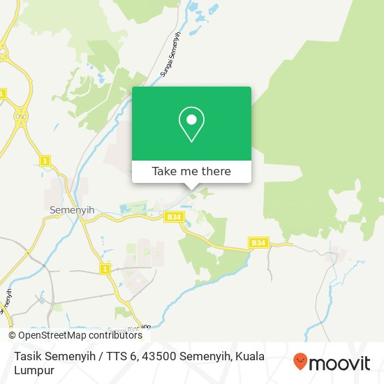 Tasik Semenyih / TTS 6, 43500 Semenyih map