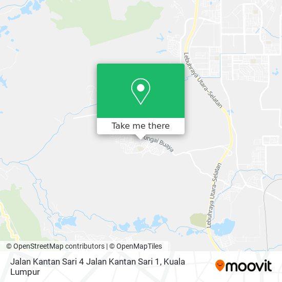 Jalan Kantan Sari 4 Jalan Kantan Sari 1 map