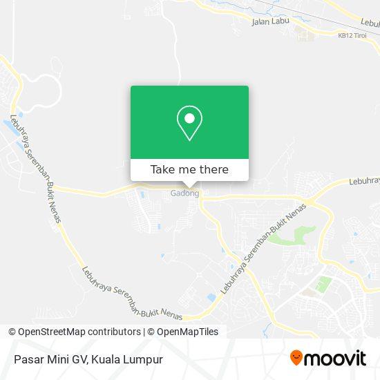 Pasar Mini GV map