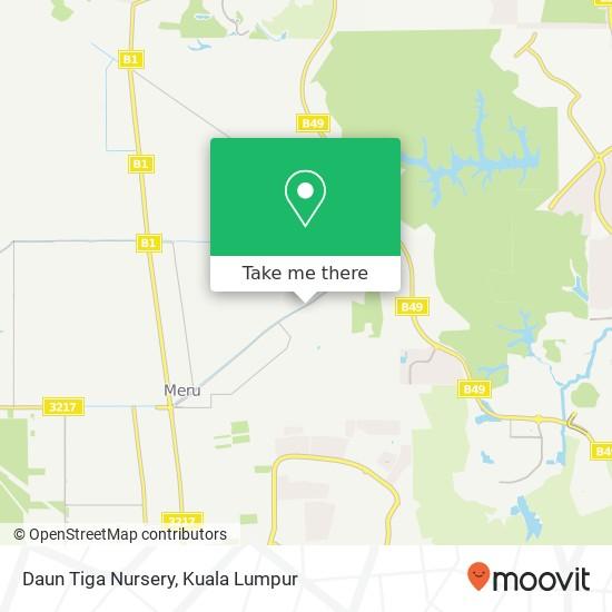 Daun Tiga Nursery, Jalan Paip 41050 Kapar map