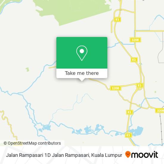 Jalan Rampasari 1D Jalan Rampasari地图