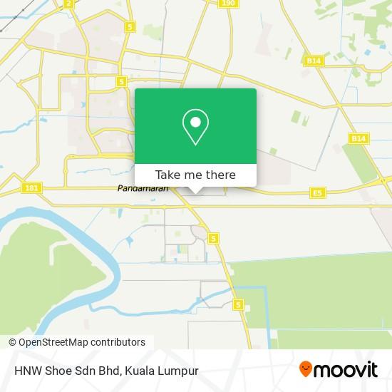 HNW Shoe Sdn Bhd map