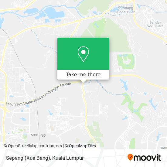 Sepang (Xue Bang) map
