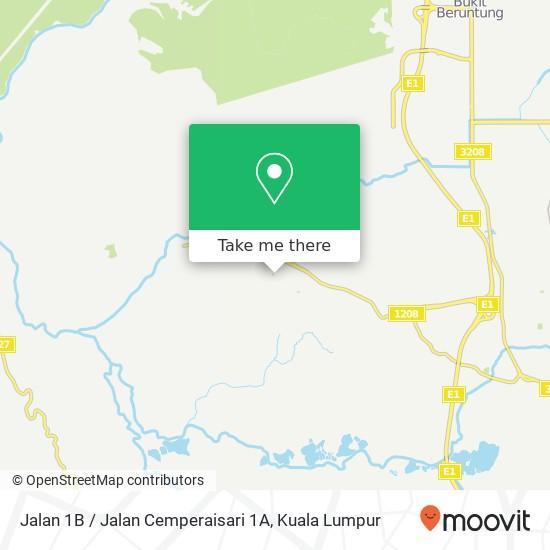 Peta Jalan 1B / Jalan Cemperaisari 1A, 48010 Serendah