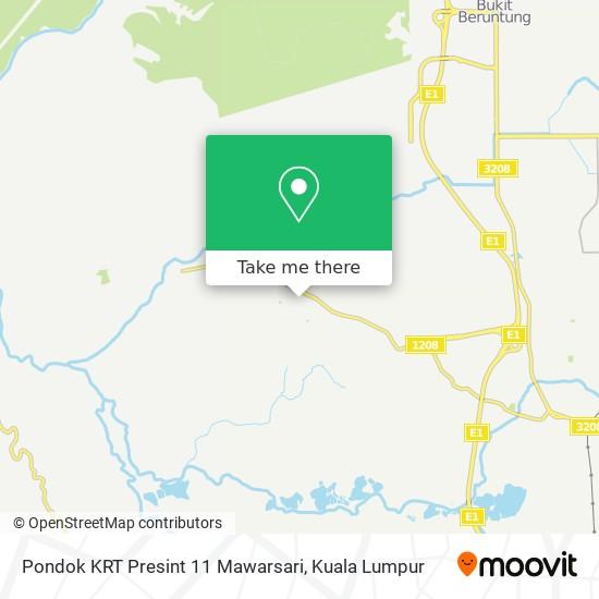 Pondok KRT Presint 11 Mawarsari地图