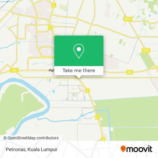 Petronas map