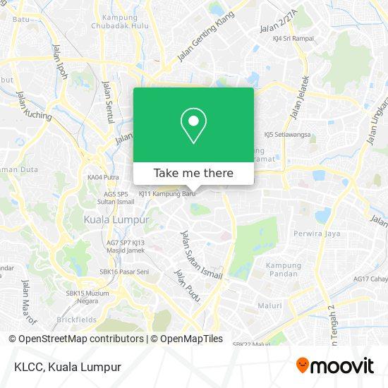 Klcc map