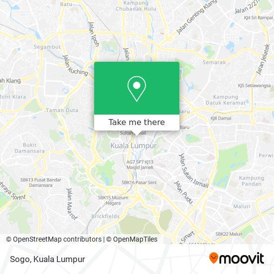 Sogo map