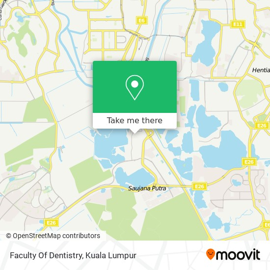 Faculty Of Dentistry map