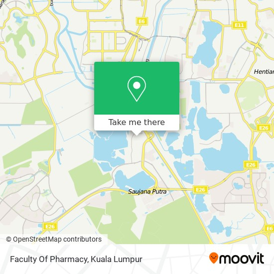 Faculty Of Pharmacy map