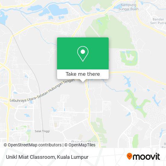 Unikl Miat Classroom map