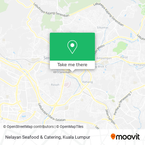 Nelayan Seafood & Catering map