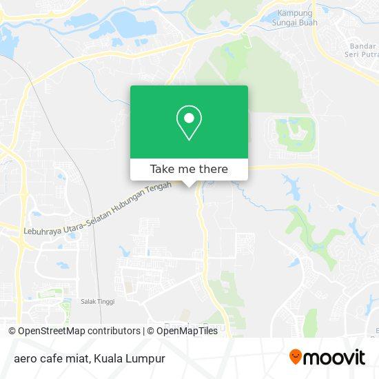 aero cafe miat map