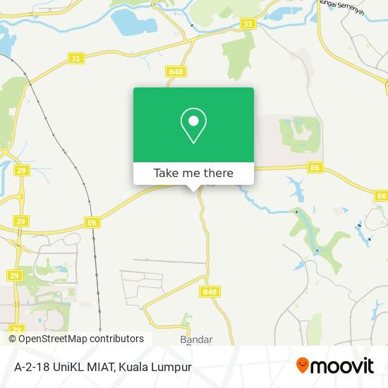 A-2-18 UniKL MIAT map