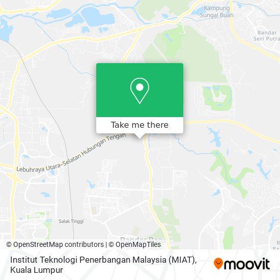 Institut Teknologi Penerbangan Malaysia (MIAT) map