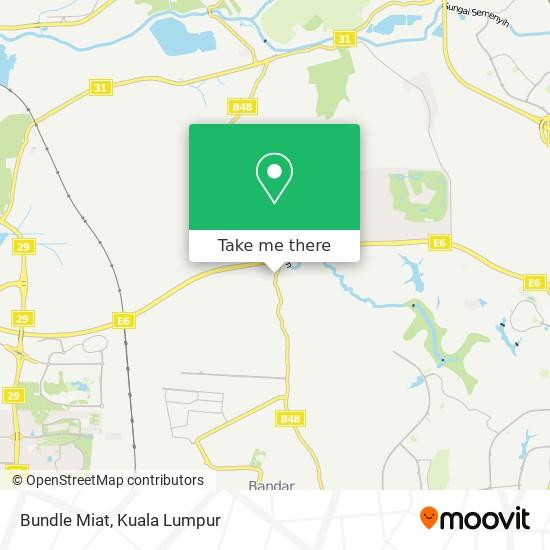 Bundle Miat map