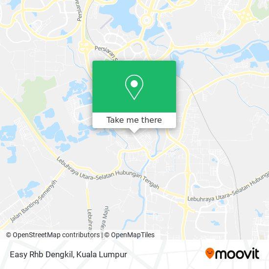 Easy Rhb Dengkil map