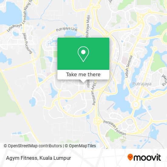 Agym Fitness map