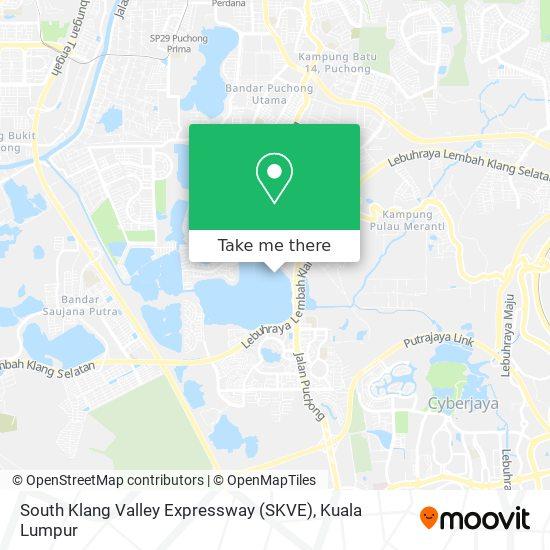 South Klang Valley Expressway (SKVE) map