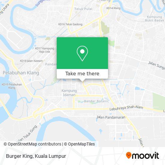 Burger King地图