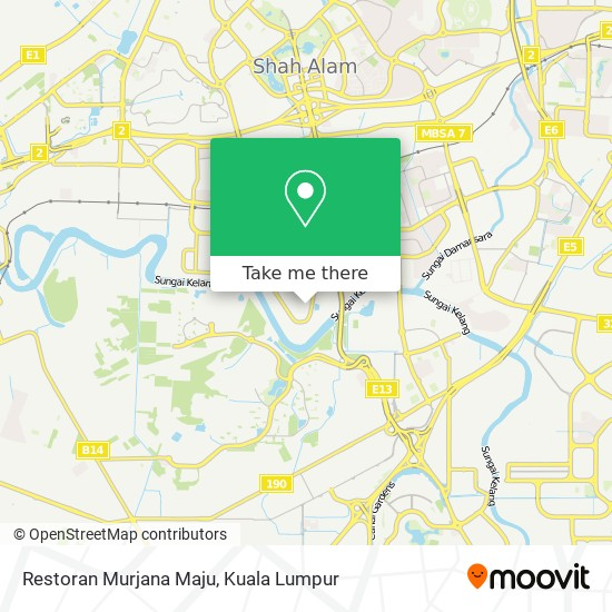 Restoran Murjana Maju地图