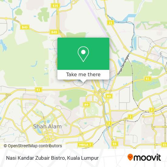 Nasi Kandar Zubair Bistro地图
