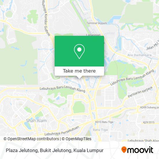 Plaza Jelutong, Bukit Jelutong map