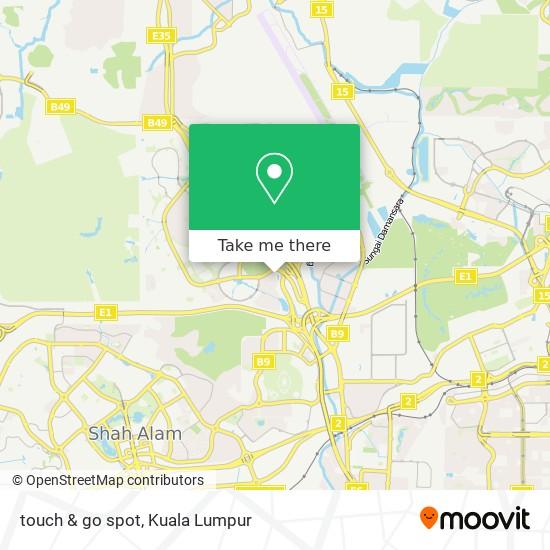 touch & go spot map