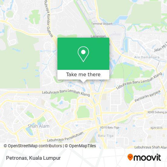 Peta Petronas