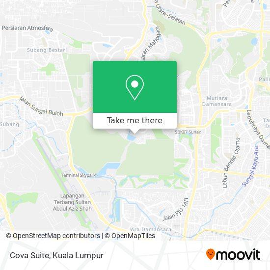 Cova Suite map