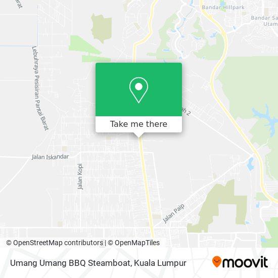Umang Umang BBQ Steamboat地图