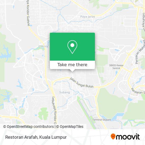 Peta Restoran Arafah