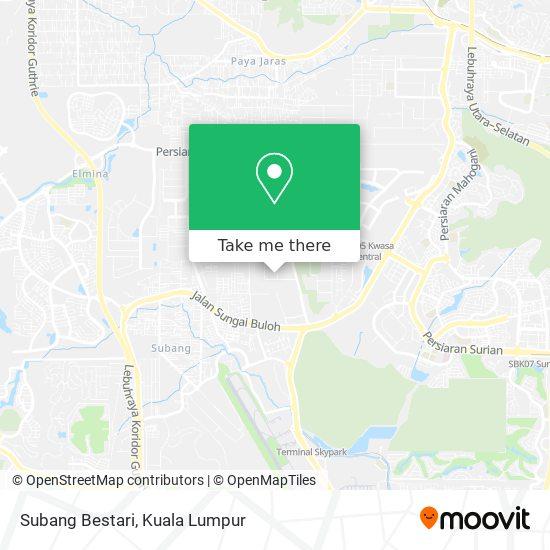 Subang Bestari地图