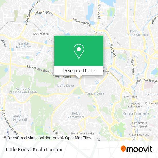 Little Korea map