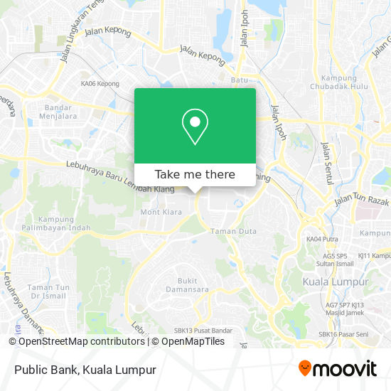 Public Bank map