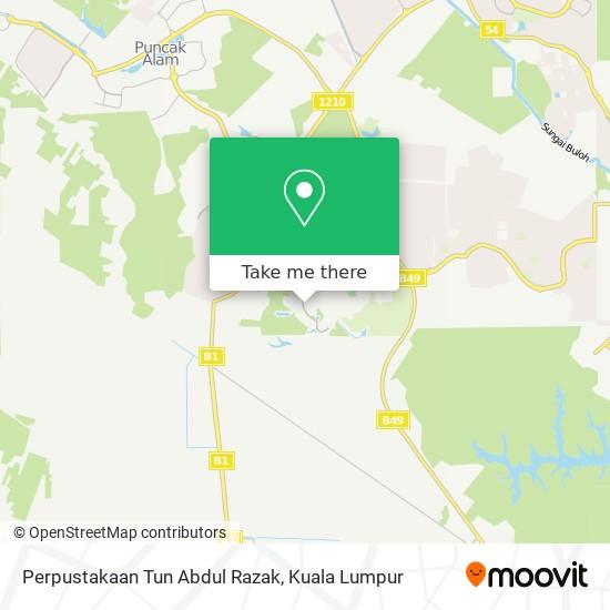 Perpustakaan Tun Abdul Razak地图