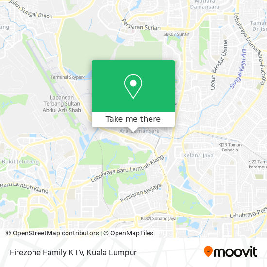 Firezone Family KTV map